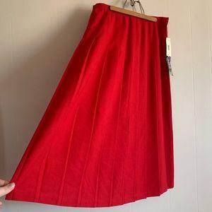 Vintage Briggs Pleated Skirt